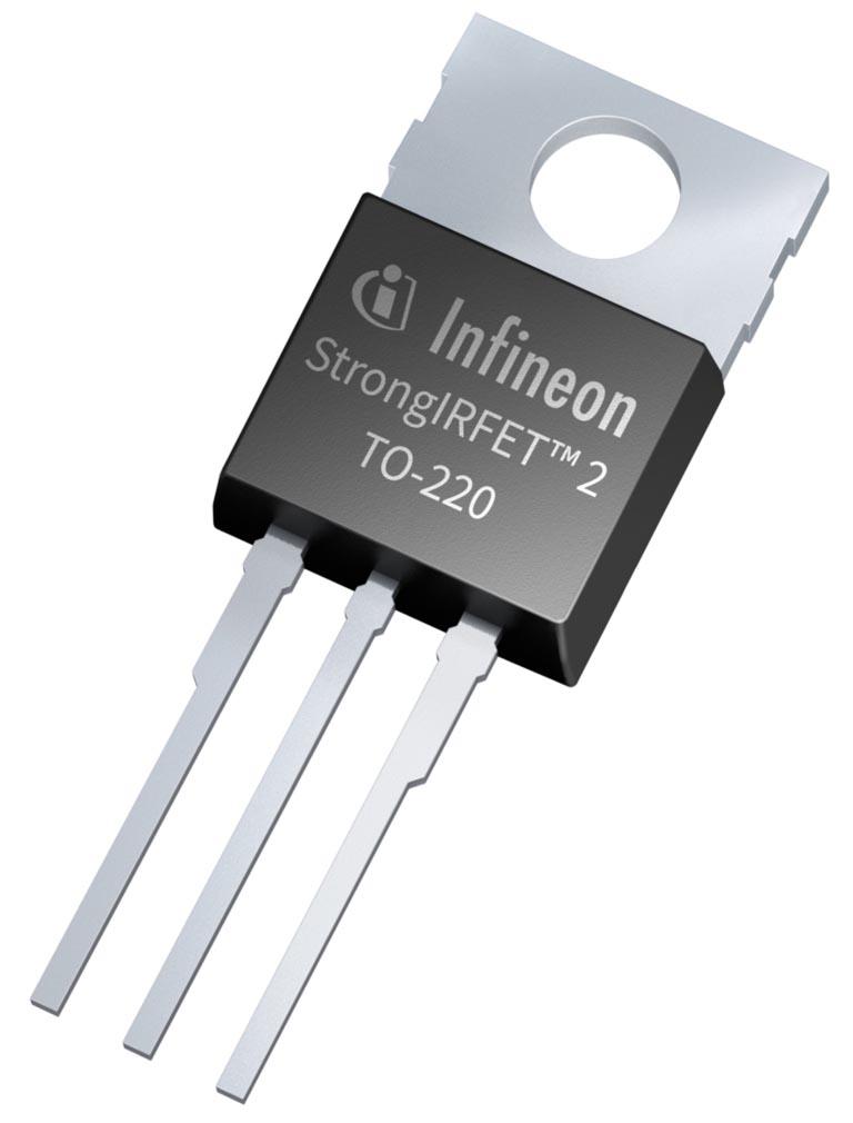 Infineon анонсирует StrongIRFET 2 - новое поколение силовых MOSFET