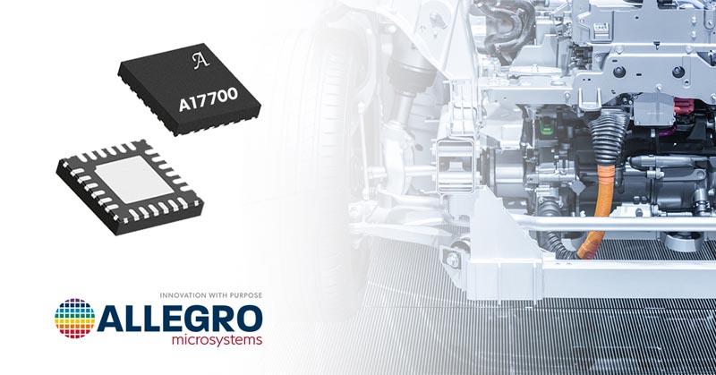 Allegro представляет высокоточную микросхему интерфейса для резистивных мостовых датчиков давления