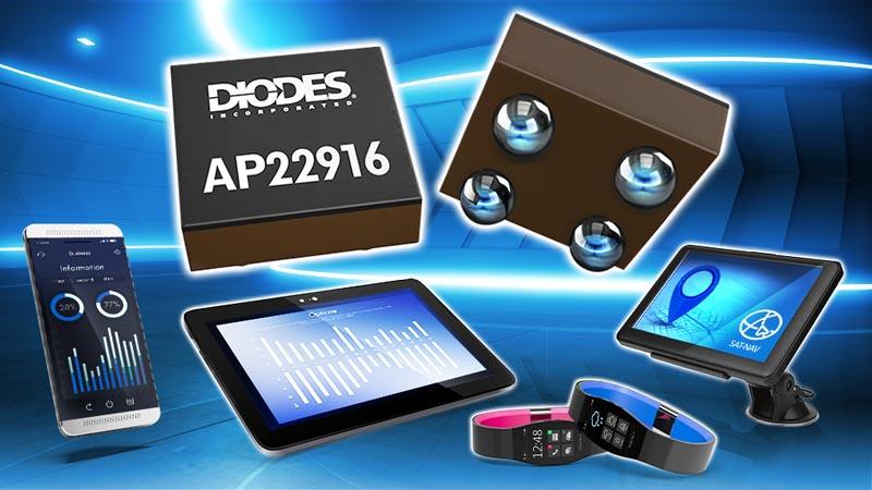 Diodes анонсировала новый 2-амперный коммутатор нагрузки