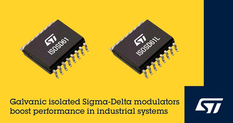 Highly Integrated Galvanically Isolated Sigma-Delta Modulators