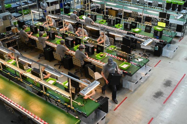 Губернатор Московской области Андрей Воробьёв дал старт производству российского вычислительного комплекса ЭВМ ДЕПО