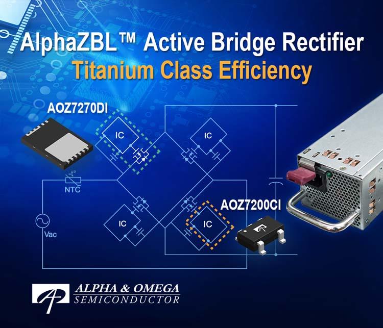 Alpha and Omega Semiconductor анонсировала новые решения для активного мостового выпрямления