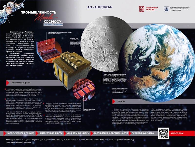 Ангстрем принял участие фотовыставке посвященной космической