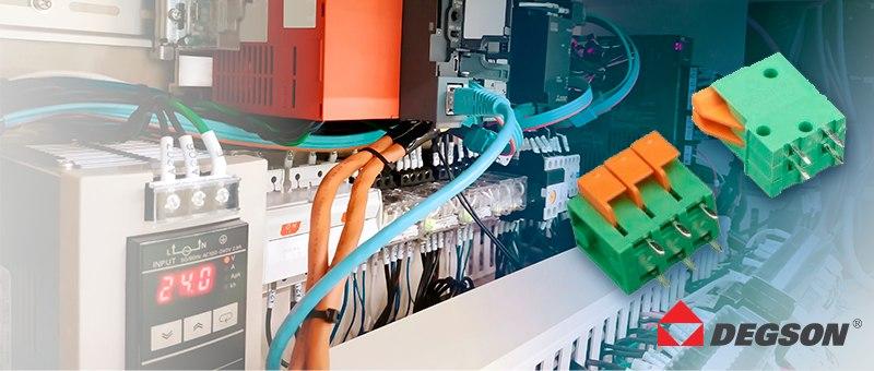 Компания Degson представляет пружинные соединительные системы для печатных плат