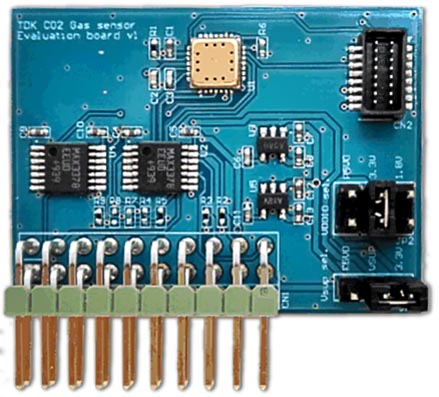 The TCE-11101 Evaluation Board (Daughter Board)