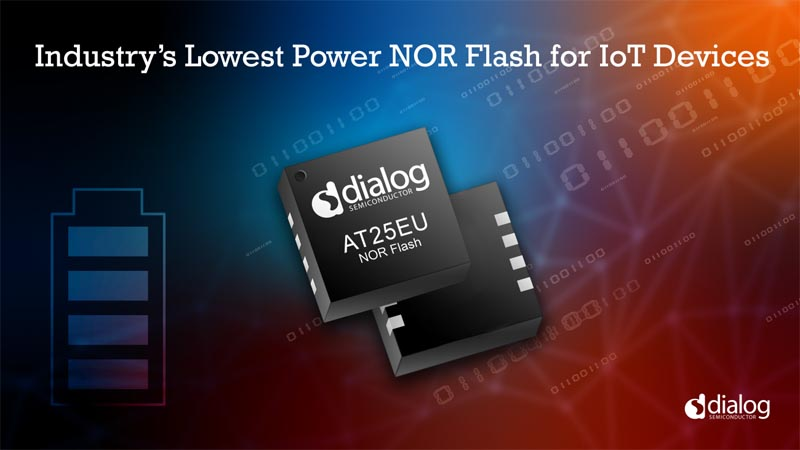 Dialog Semiconductor Adds Industry Lowest Power