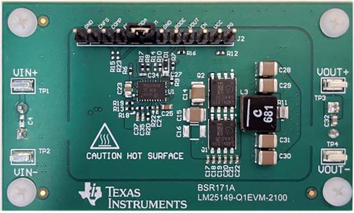 Оценочный модуль LM25149-Q1EVM-2100