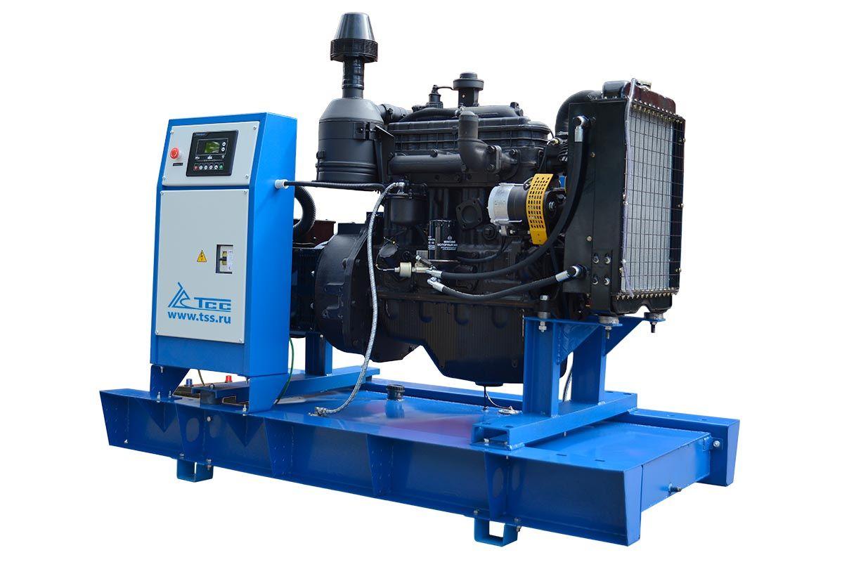 Ремонт с помощью дизельных генераторов