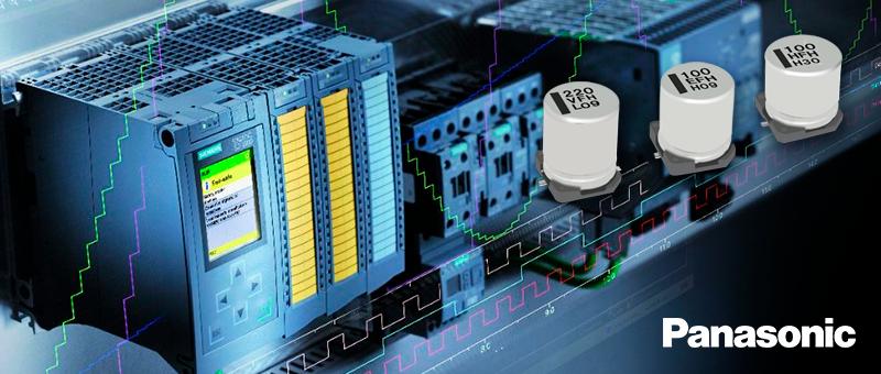 Panasonic выпустила новые алюминиевые электролитические конденсаторы