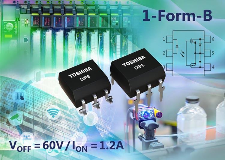 Latest 1-Form-B Photorelay Toshiba Offers 1.2