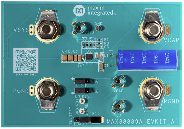 The MAX38889EVKIT# Evaluation Kit