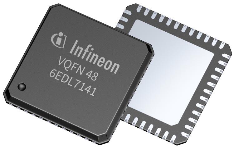 Infineon выпускает трехфазный драйвер затворов для следующего поколения продуктов с батарейным питанием