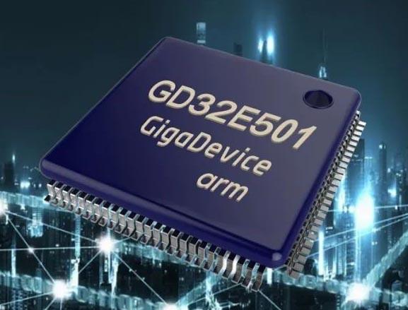 Внешний вид микроконтроллеров GD32E5.
