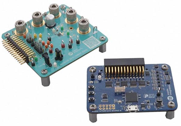 The MAX98396EVSYS Evaluation System