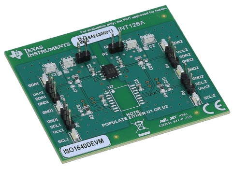 The ISO1640DEVM Evaluation Module