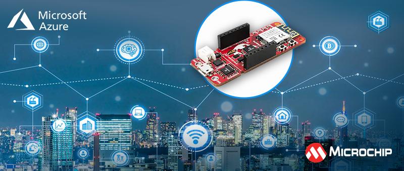 Решения Microchip и сервисы Microsoft для интернета вещей