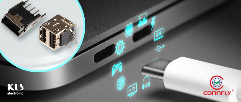 USB-соединители в различных исполнениях со склада Компэл по гибким ценам