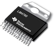Datasheet Texas Instruments LM4780TABD