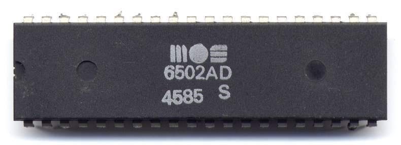 Микропроцессор 6502 компании MOS Technology