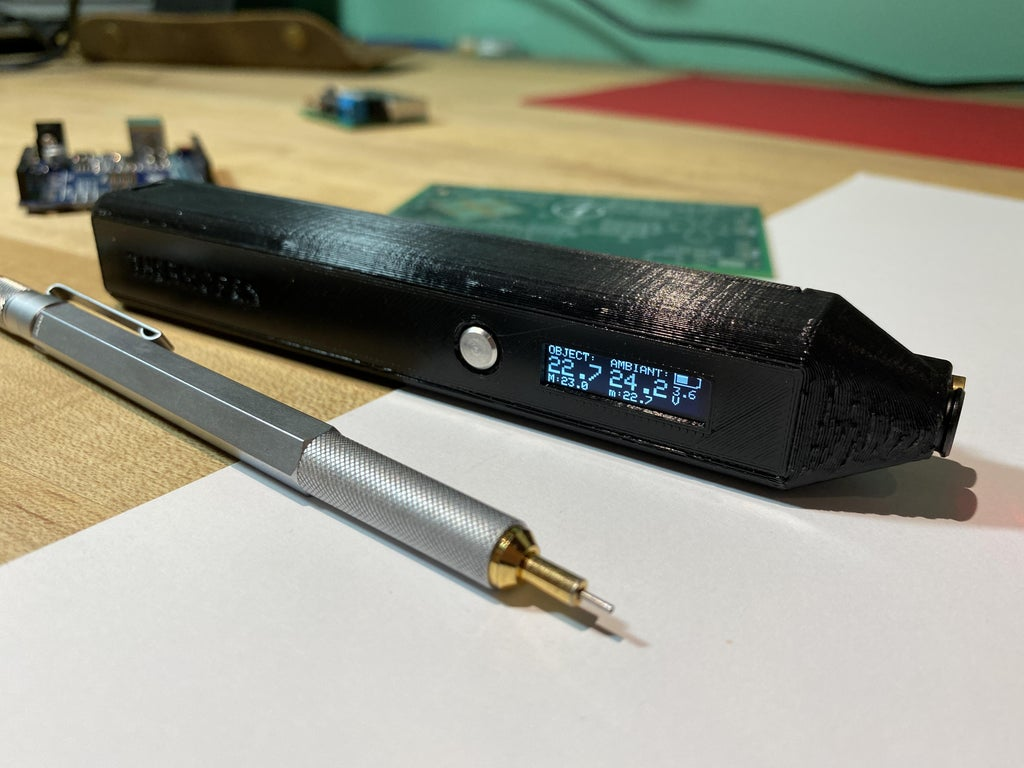 ThermoPen - компактный ИК-термометр в форме ручки.