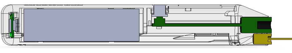 Проект корпуса ИК-термометра и 3D вид.