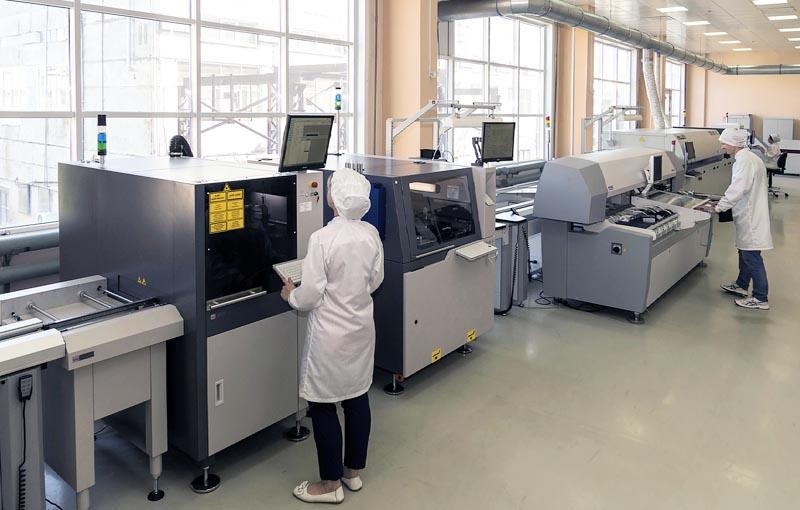 «Росэлектроника» наращивает производственные мощности для выпуска гражданской продукции