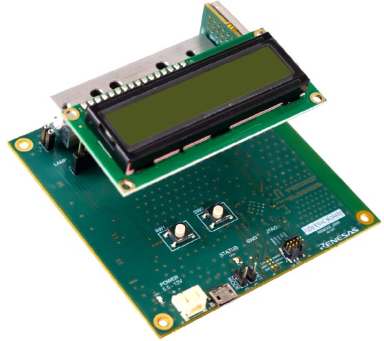 RTD120D-EVK - CO2 Detector Board with LCD Module