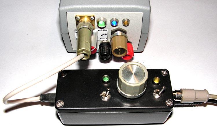 Общий вид устройства в сборе, подключенного к ИП [2].