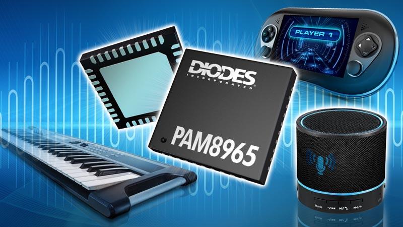 Diodes представляет новый высокоэффективный стереоусилитель класса