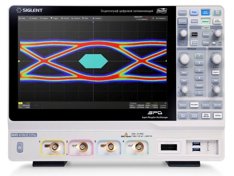 АКИП представляет новую серию цифровых осциллографов