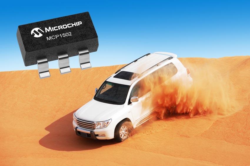 Microchip выпускает высокоточный источник опорного напряжения