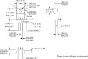 Vishay VS-12CTQ045PBF