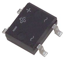 Datasheet DF005S-E3/45 - Vishay BRIDGE RECTIFIER, 1PH, 1  A, 50  V, SMD