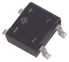Datasheet DF005S-E3/77 - Vishay BRIDGE RECTIFIER, 1PH, 1  A, 50  V, SMD