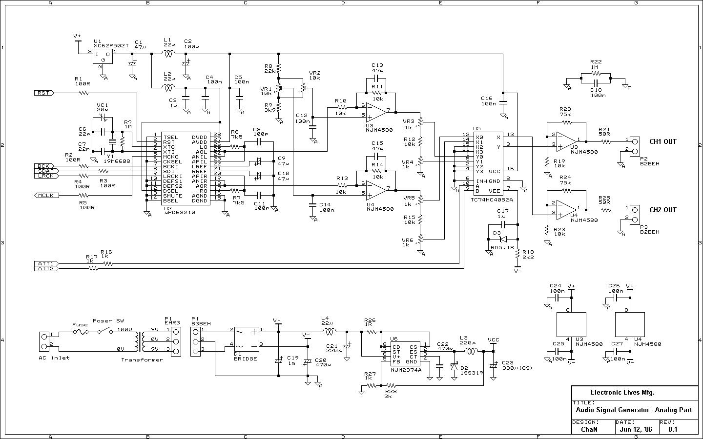 Функциональный генератор на микроконтроллере схема Схемы соединений
