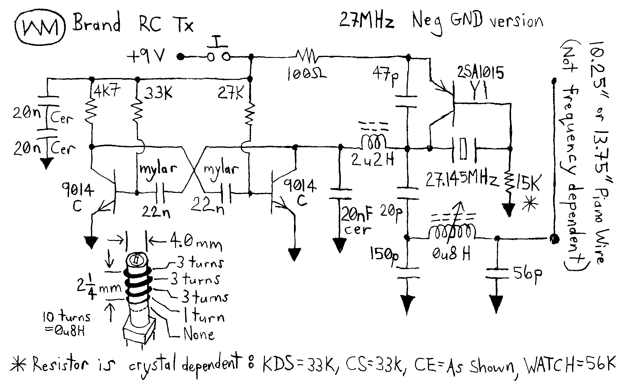 novotill RcCarsSimple WmRcTxNeg27 simple rc cars single channel transmitters and super 27mhz transmitter circuit diagram at mifinder.co
